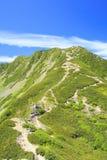 Montagna del giapponese di estate Fotografia Stock Libera da Diritti