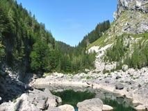 montagna del lago Fotografie Stock Libere da Diritti