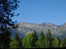 Montagna del lago Tahoe fotografie stock libere da diritti