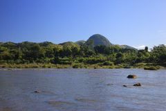 Montagna del Madagascar Immagini Stock