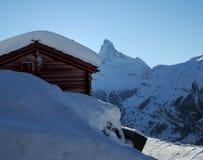 Montagna del Matterhorn Immagini Stock Libere da Diritti