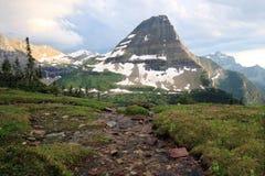 Montagna del Montana Fotografia Stock