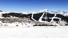 Montagna del Monte Bianco Fotografie Stock