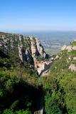 Montagna del Montserrat. Fotografia Stock