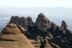 Montagna del Montserrat fotografia stock