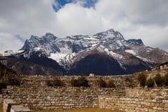 Montagna del Nepal Immagine Stock Libera da Diritti