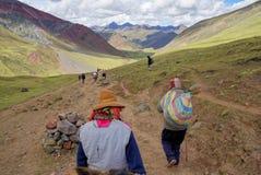 Montagna del Perù Fotografie Stock