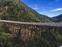 Montagna del ponte fotografia stock