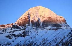 Montagna del Tibet Fotografia Stock