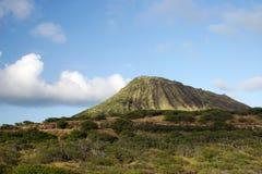 Montagna del vulcano dell'Hawai Fotografia Stock