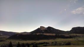 Montagna del Wyoming fotografia stock