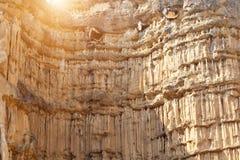 Montagna del yanon del suolo Fotografia Stock Libera da Diritti