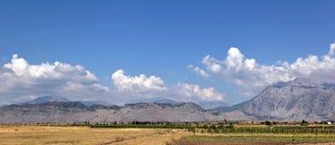 Montagna dell'Albania Immagini Stock