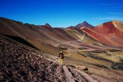 Montagna dell'arcobaleno fotografie stock