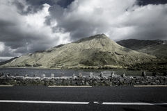 Montagna dell'Irlanda Fotografia Stock