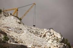 Montagna della caverna del marmo Fotografia Stock Libera da Diritti