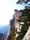 Montagna della Cina Fotografie Stock
