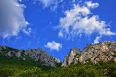 Montagna della Crimea Fotografie Stock