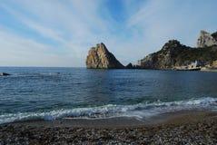 Montagna della diva. La penisola della Crimea Immagine Stock