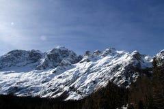 Montagna della dolomia Fotografia Stock Libera da Diritti