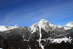 Montagna della dolomia Immagine Stock
