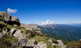 Montagna della Drago-tartaruga Fotografia Stock