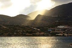 Montagna della Grecia fotografie stock