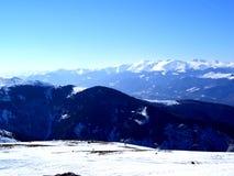 Montagna della neve ...... (1) immagini stock