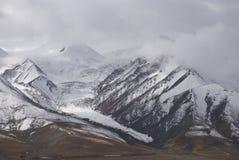 Montagna della neve Fotografia Stock