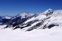 Montagna della neve Immagini Stock Libere da Diritti