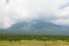 Montagna della neve del drago della giada Fotografie Stock Libere da Diritti