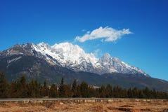 Montagna della neve del drago della giada Immagine Stock Libera da Diritti