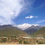 Montagna della neve di Haba! fotografia stock libera da diritti