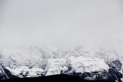 Montagna della neve di Meili Fotografia Stock Libera da Diritti