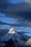 Montagna della neve di Meili Fotografie Stock