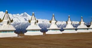 Montagna della neve di Meri fotografia stock libera da diritti