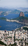 Montagna della pagnotta di zucchero in Rio de Janeiro Fotografie Stock Libere da Diritti