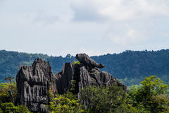 Montagna della roccia Fotografie Stock Libere da Diritti