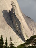 Montagna della roccia blu Fotografie Stock