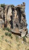 Montagna della roccia in valle di ihlara Fotografia Stock Libera da Diritti