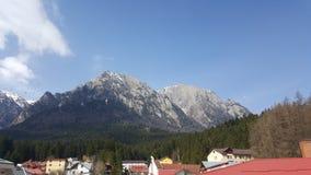Montagna della Romania Fotografia Stock