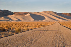 Montagna della sabbia, Nevada Immagine Stock