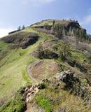 Montagna della sella anticlinale Fotografia Stock