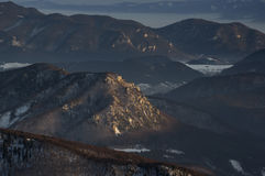Montagna della sorsata Fotografia Stock