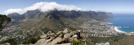 Montagna della Tabella di panorama Fotografia Stock