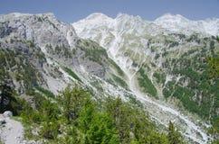Montagna delle alpi albanesi Immagine Stock Libera da Diritti