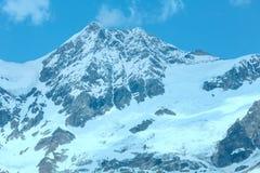 Montagna delle alpi di estate Fotografie Stock Libere da Diritti