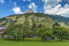 Montagna delle alpi vicino a Altaussee, Austria Immagine Stock Libera da Diritti
