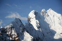 Montagna delle Cordigliera Fotografie Stock Libere da Diritti