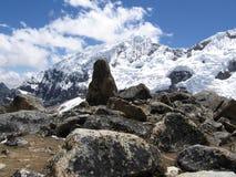 Montagna delle Cordigliera Fotografia Stock